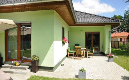 Studie domu Largo 122 zvětšeného o 3 moduly